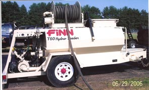 hydroseeding machine